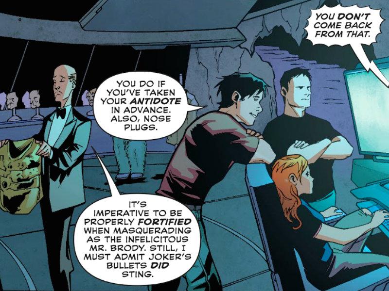 The Legend of Knute Brody plano critico batman