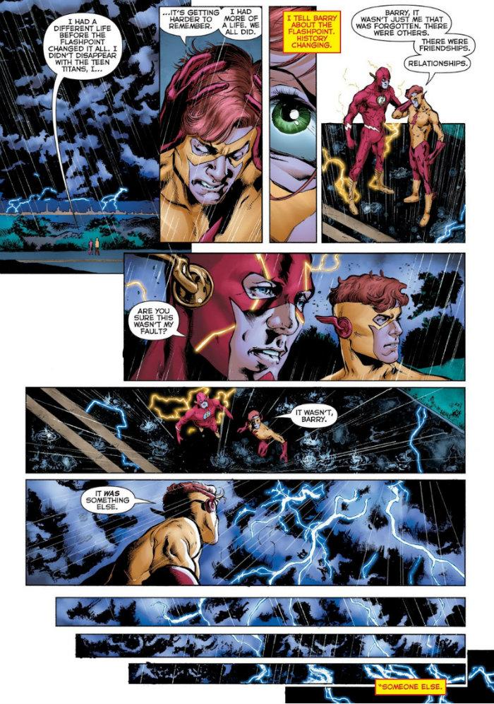 plano critico heróis em crise 7 não foi culpa do Barry