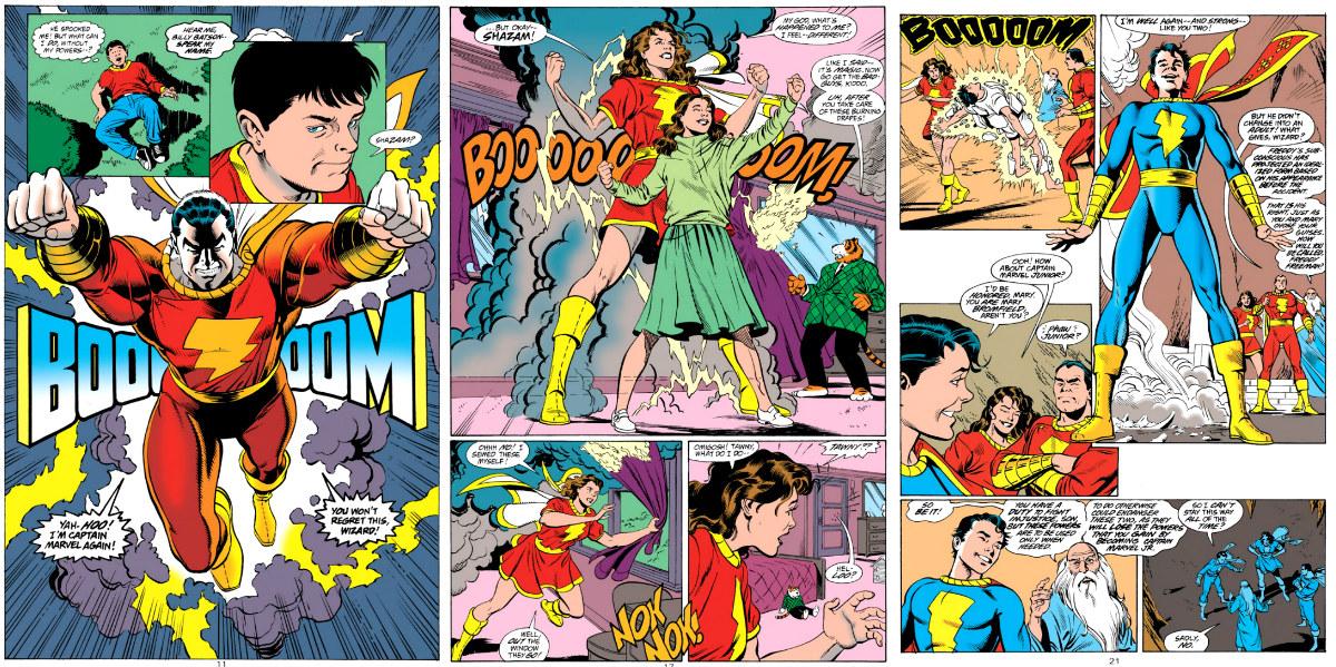 plano critico o poder de shazam equilibrio de poder quadrinhos