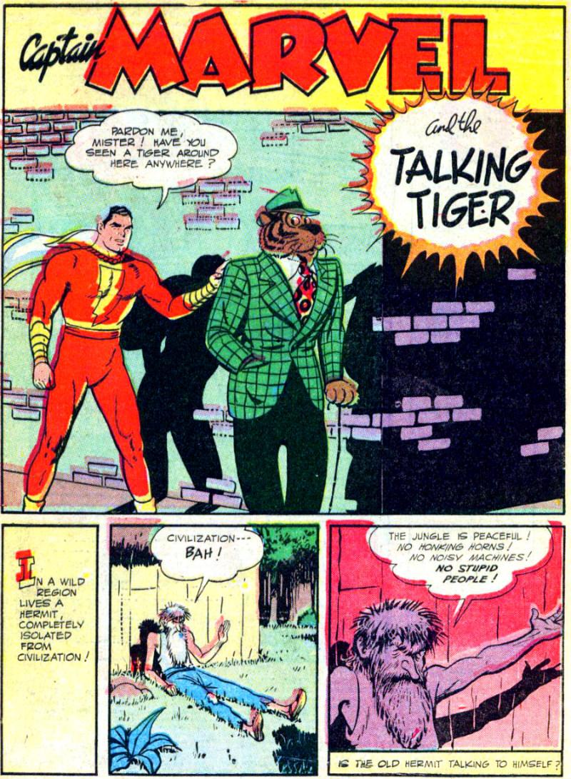 plano critico tigre falante seu malado