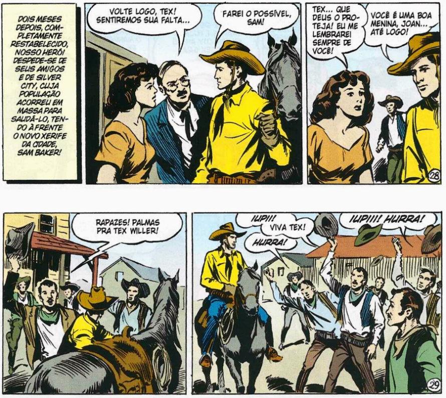 Tex em Cores - BR0001 - O Totem Misterioso (2009) - página 211 Um contra cinco tex willer plano critico