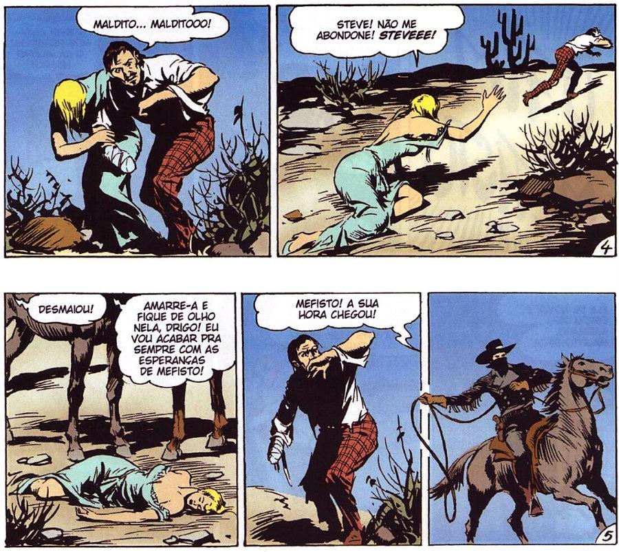 Tex em Cores - BR0003 - O Bando do Vermelho (2010) - plano critico mefisto o espião parte final da saga