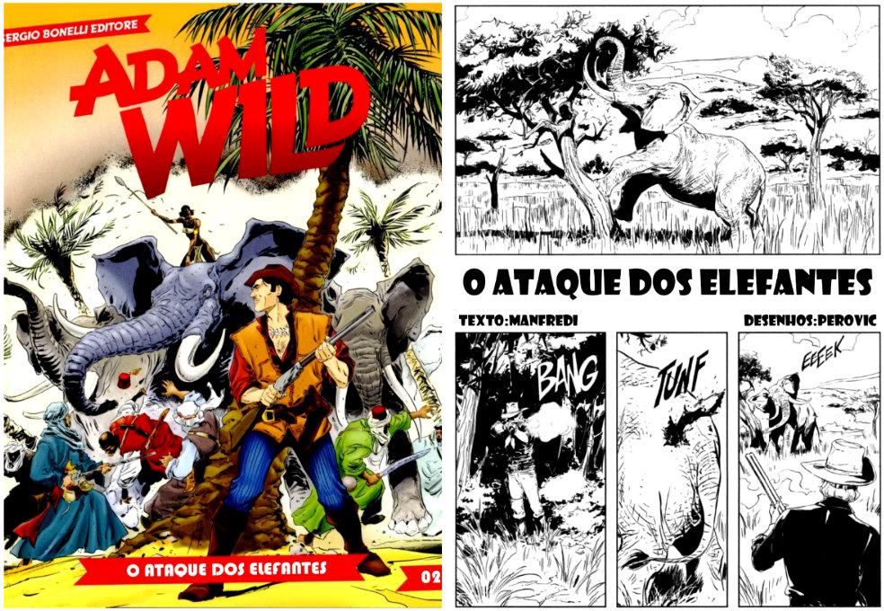 plano critico adam wild o ataque dos elefantes