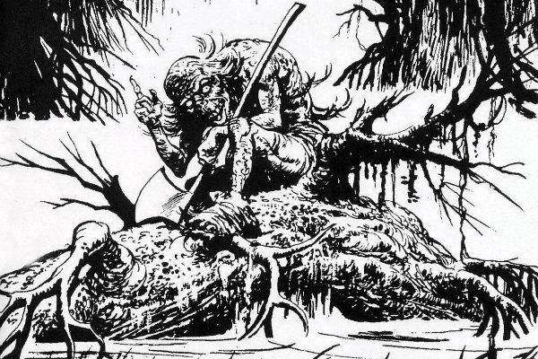 O Morto do Pântano #2 - plano critico o morto do pantano colonnese eugenioO Morto do Pântano #2 - plano critico o morto do pantano colonnese eugenio