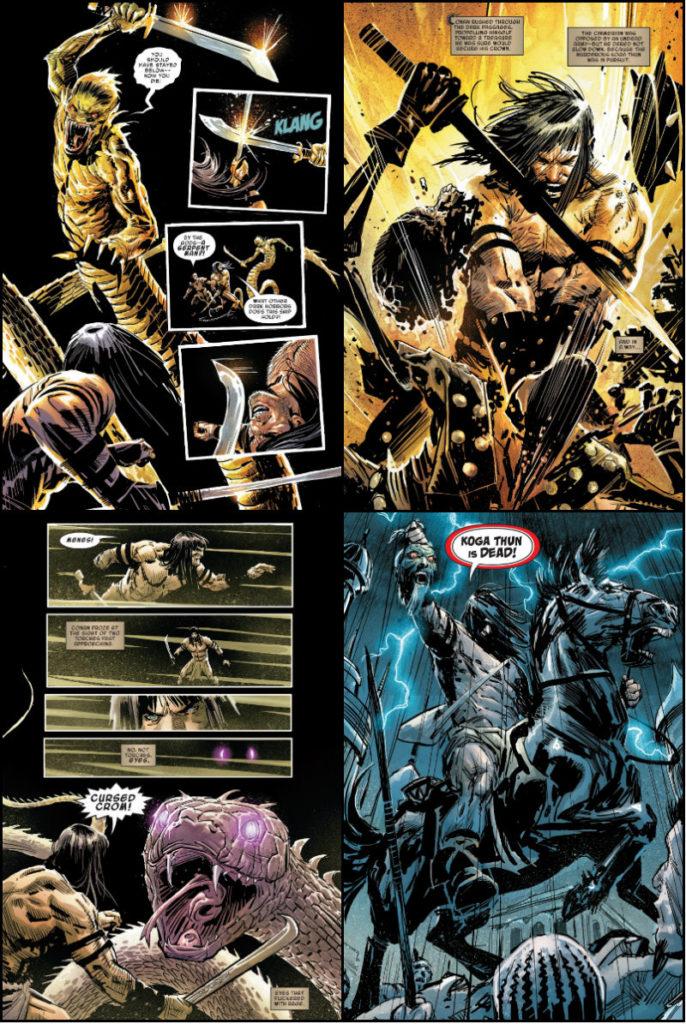 plano critico conan o culto de koga thun marvel comics