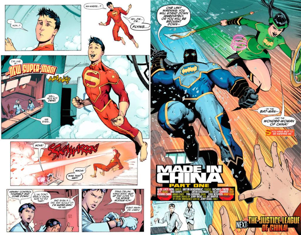 plano critico liga da justiça da china novo superman