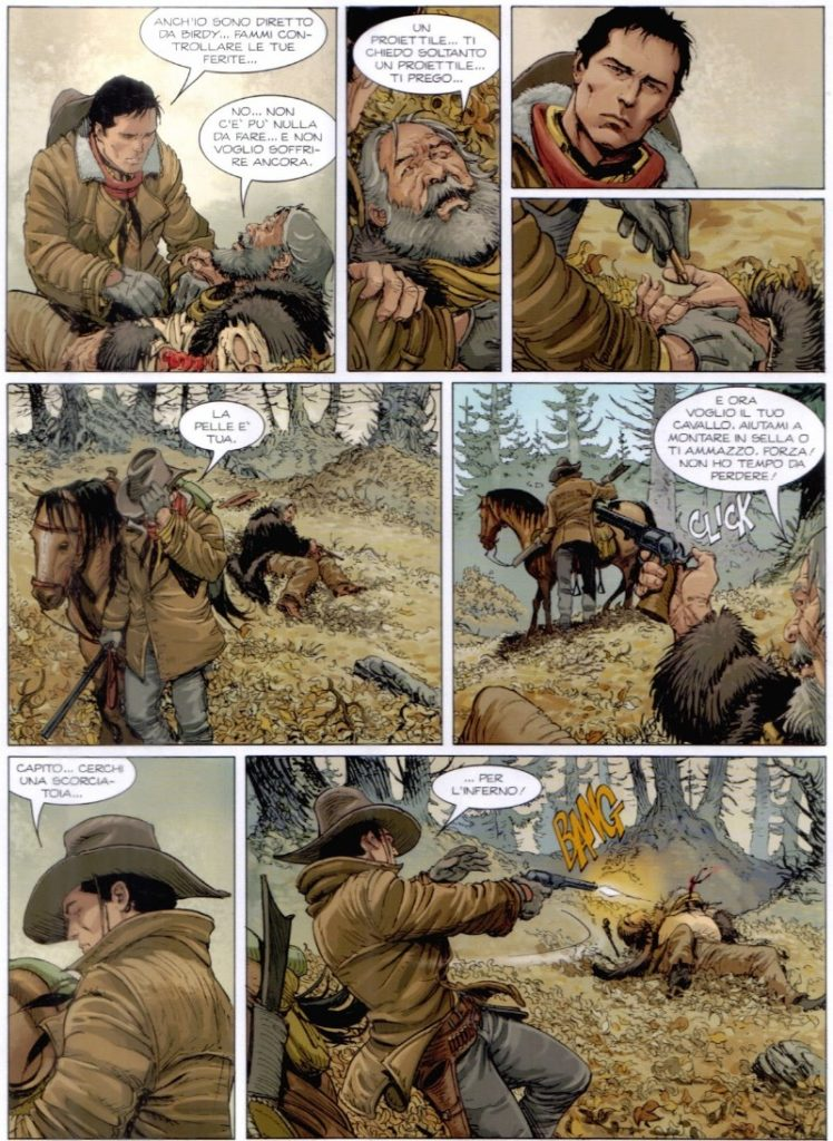 montana desafio no plano critico tex graphic novel quadrinhos