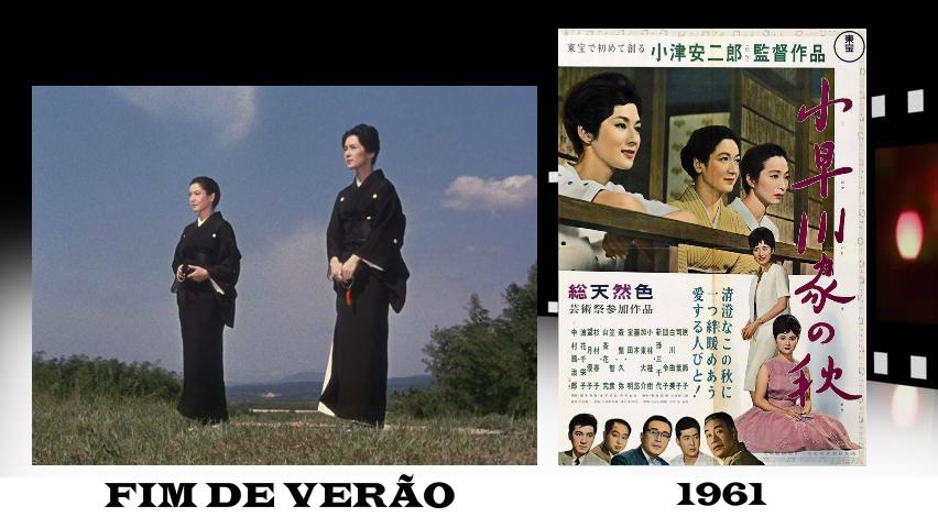 plano critico também FIM DE VERÃO 1961 top 10 ozu