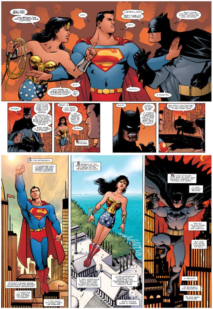 plano crítico trindade batman mulher maravilha e superman quadrinhos HQS