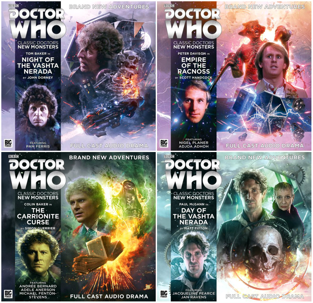 plano crítico Classic Doctors, New Monsters Volume Two audiodramas doctor who audiodramas