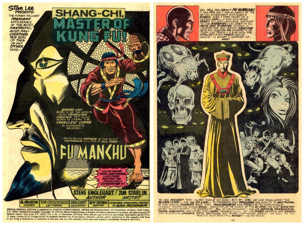 plano crítico Crítica Shang-Chi, o Mestre do Kung Fu! (Special Marvel Edition #15 e 16) plano crítico