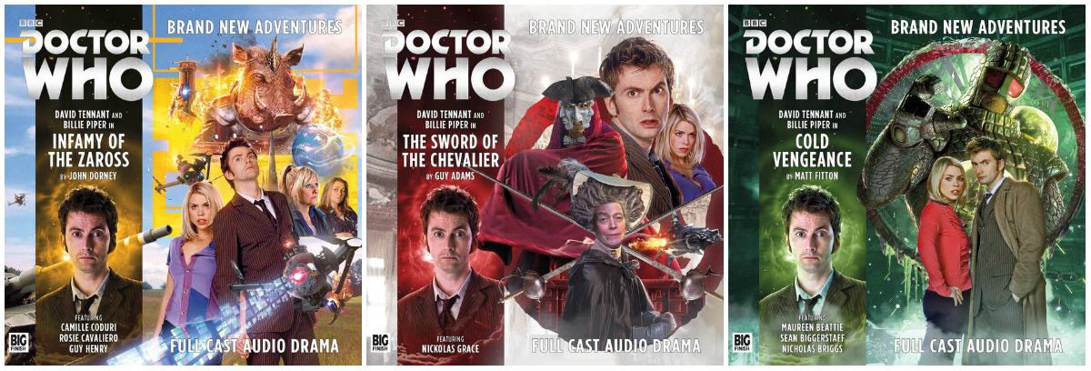 plano crítico doctor who The Tenth Doctor Adventures (audio series) episódios