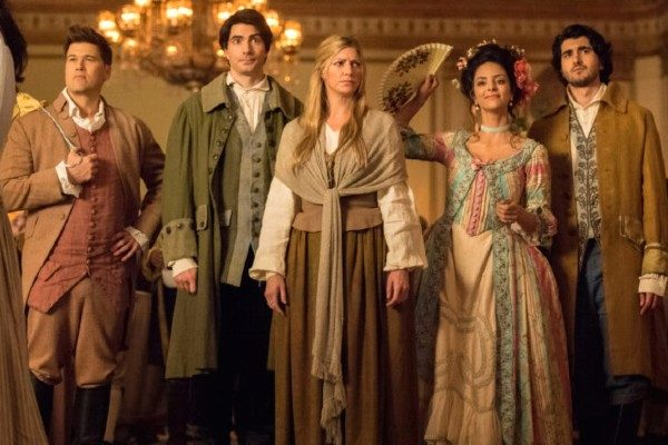 plano crítico Legends of Tomorrow – 5X04 A Head of Her Time