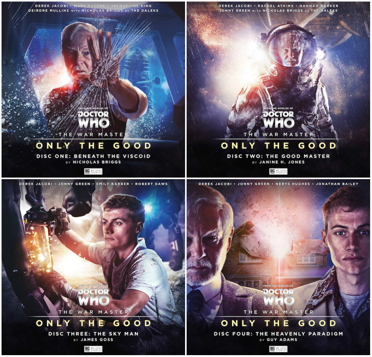 The Good Master (audio story) doctor who the war master