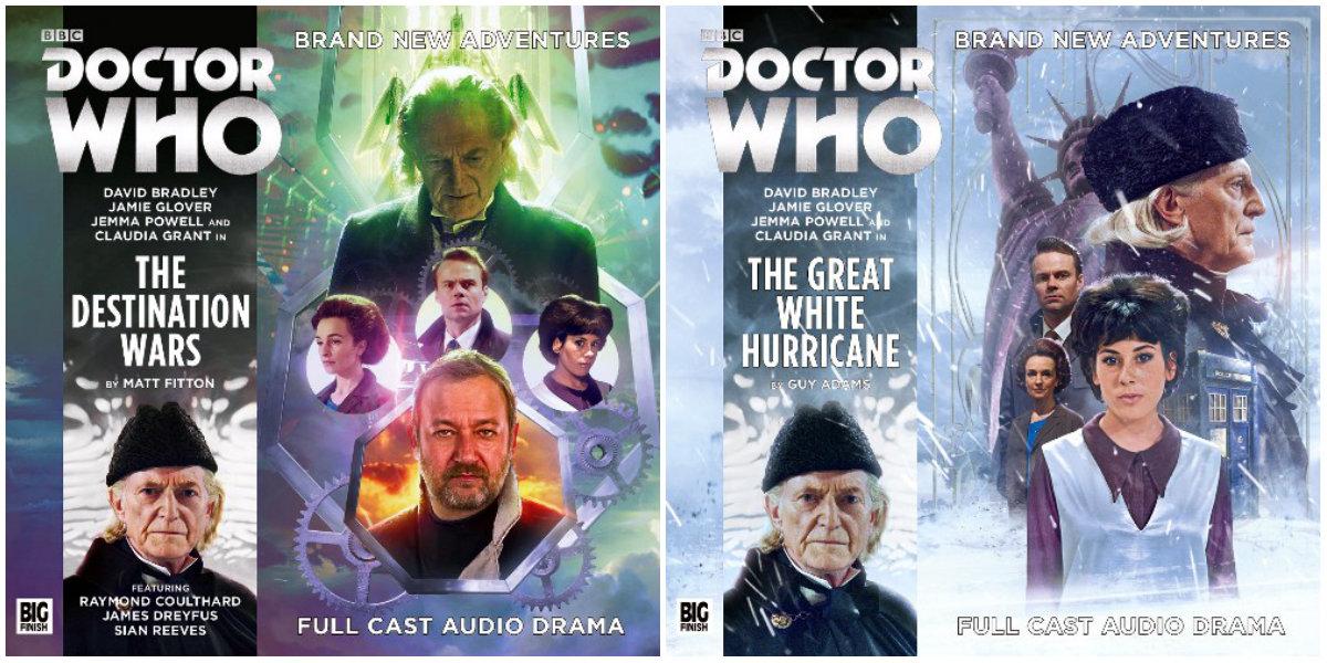 plano crítico doctor who aventuras do 1º doutor - 1ª temporada first doctor adventures big finish