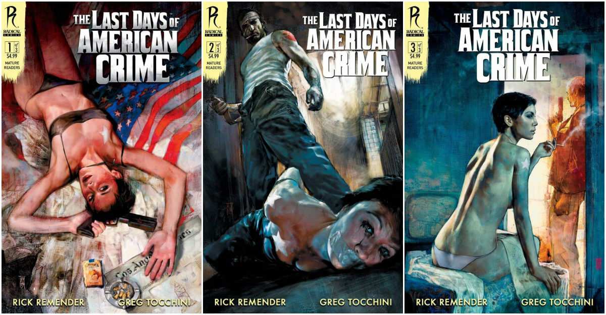 Critica The Last Days Of American Crime Graphic Novel Plano Critico