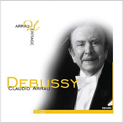 Debussy_ Works for Piano Claudio Arrau plano crítico